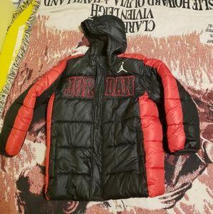 Air Jordan Puffer Jacket Youth Small